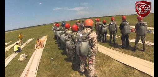 Відбулися заняття з парашутно-десантної підготовки