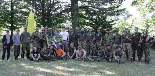 Вишкіл Чернівецької самооборони «Білими Вовками»