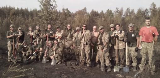 Масштабні пожежі у Київських лісах