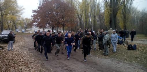 7 листопада відбувся черговий квартальний залік з фізичної підготовки