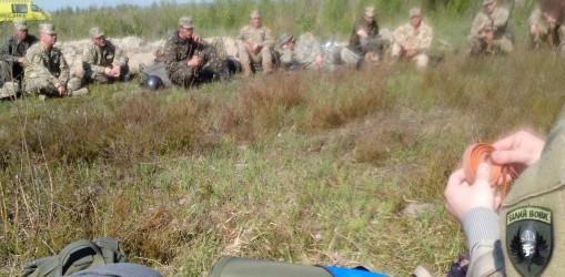 Тренінг з тактичної медицини для бійців-артилеристів ЗСУ